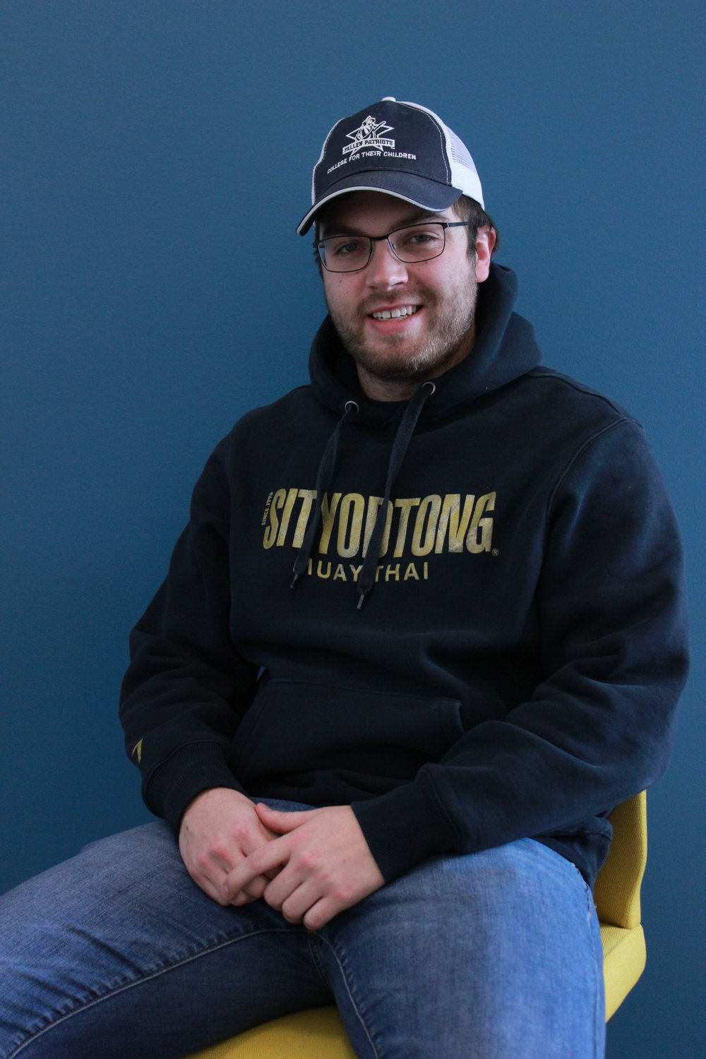 Bill Ruocco - Bill Ruocco is from Newbury, Massachusetts. He is a journalism major and a criminal justice minor looking to work in a non-profit some day. Bill loves the Boston Bruins more than anything.