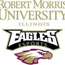 Robert Morris University Illinois esports Team Logo. Photo Via Robert Morris University's esports Team Twitter  @RMUesports