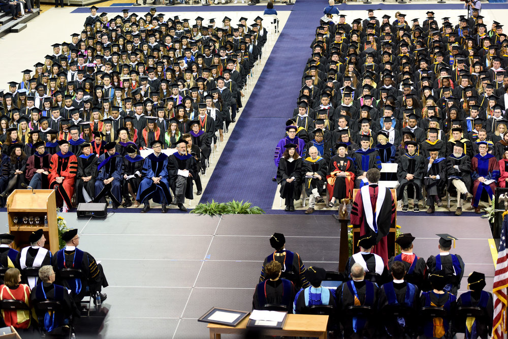 Quinnipiac Commencement 2017, Credit: Quinnipiac University