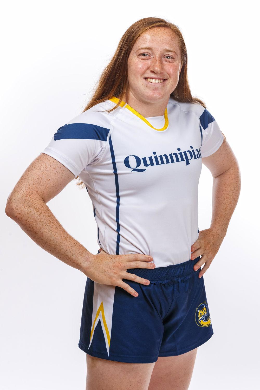 Emily Roskopf - Senior, Captain of Quinnipiac Women's Rugby.Photo Courtesy of Quinnipiac Athletics
