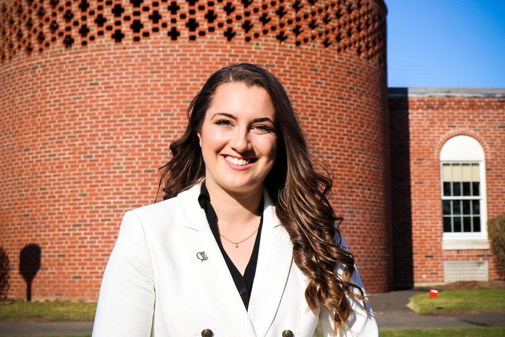 Quinnipiac Student Government Association Vice President-elect Sophia Marshall  (Photo courtesy: SGA)