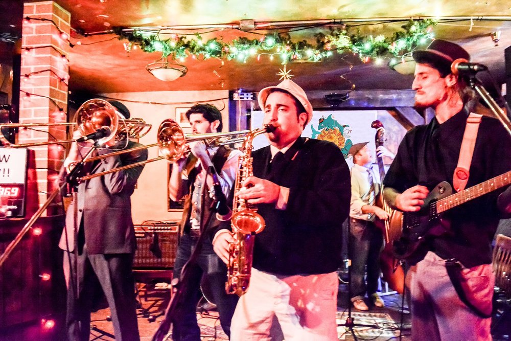 8:30The AlCapones - Ska, Reggae, Folk-a-delic 7 piece band from the Front Range. An energetic, dynamic dance inducing live show
