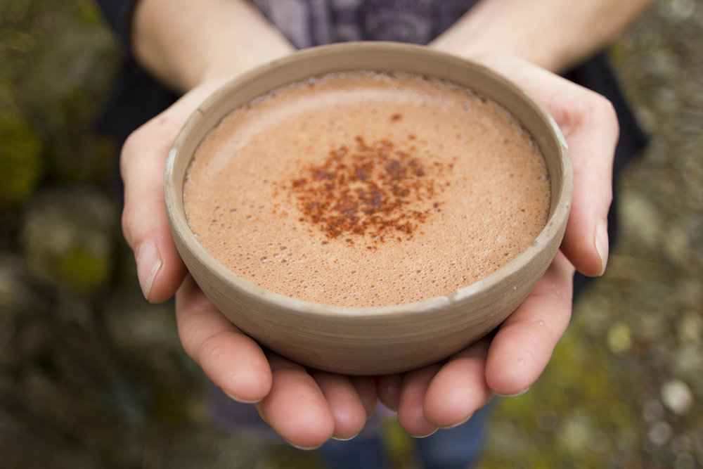 3 Cacao ceremony and gong - Opening ceremony with Brian Dickinson of Evolved ALchemy
