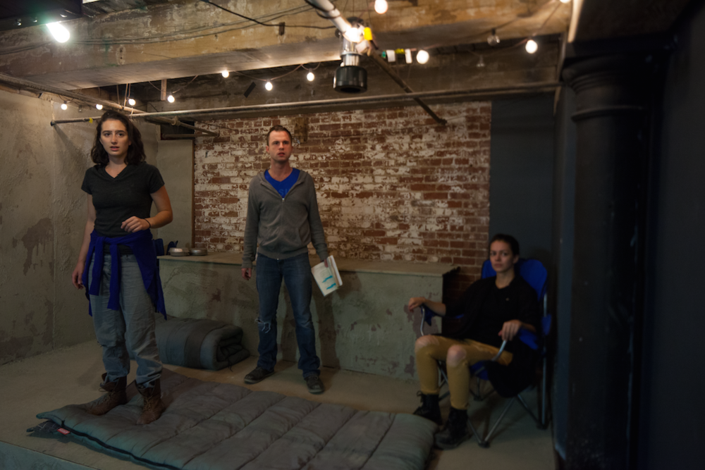 pictured: Olivia Caputo, Adam Preston and Maddie Sosnowski