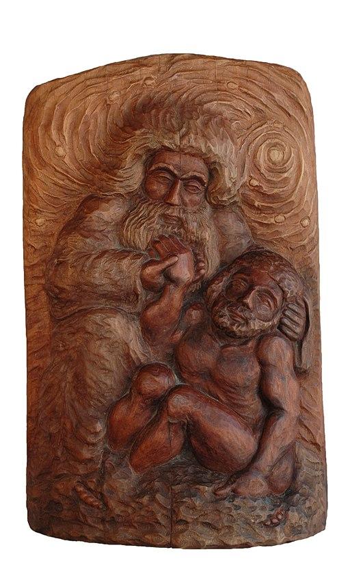 By sculpture: Tadeusz Kowalski, photo: Karol Kowalski via Wikimedia Commons
