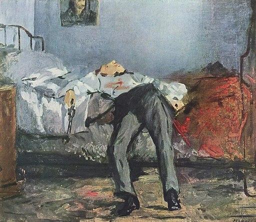 Edouard Manet - Le Suicide' [Public domain], via Wikimedia Commons