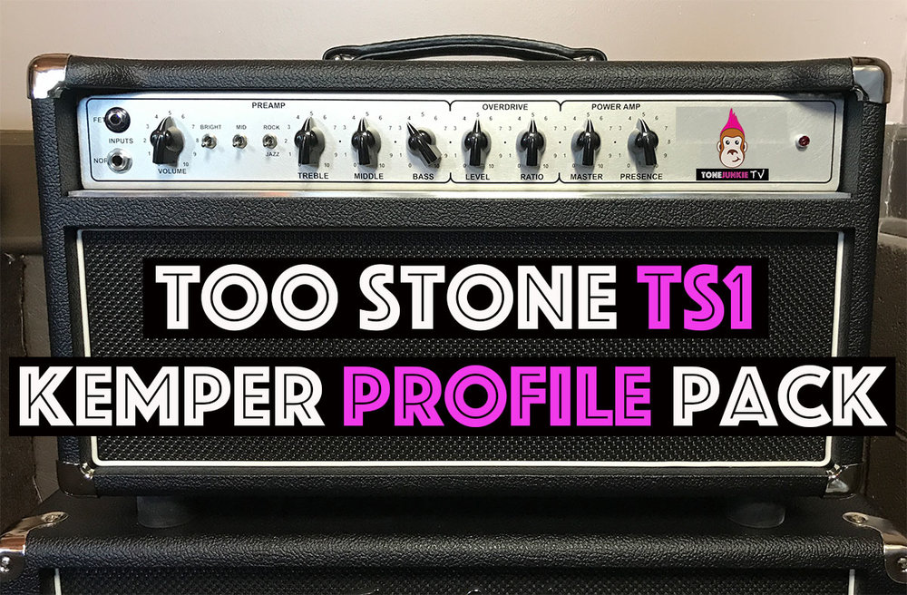 Too Stone TS1 - If you are looking for the classic D style cleans and smooth mid range heavy break-up, look no further the Tone Junkie Too Stone TS1 Profile Pack is for you. We have captured this absolutely beautiful sounding amp in tons of possible combinations using the Rock/Jazz, Bright On/Off, Mid On/Off on Channels 1 and 2. We have had our hands on some seriously incredible amps but this one takes the cake. 31 profiles included in this pack...
