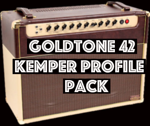 It's Free!!! - The GoldTone 42 Pack captures the tone of the modern GA series from that G brand. The US side of the amp feels like a classic american voiced tube amp with some subtle differences. The UK side has less head room, less bass and a bit more mids. It' not very V*X sounding because of the 6L6 power section but it leans more that direction. Some of the best tones in the pack come from the internal jumper with lets you run two channels together. The amps shared phase inverter gets hit pretty hard when both channels are running into it so the combined sound overdrives fast and is very dynamics to the players picking.