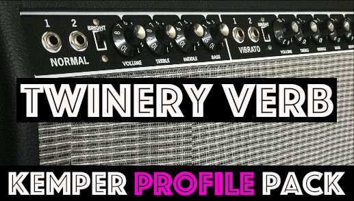 This one is Free! - The Twinery Verb Kemper Profile Pack from Tone Junkie faithfully captures the tones of the iconic 100W 2x12 American clean machine from about 1 million popular recordings. These are the Flagship sounds that put that little shop in Fullerton, Ca on the map as an amp maker back in the 60's and it's part of the Tone Junkie Free Pack!