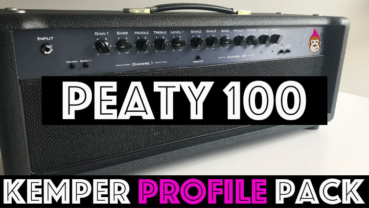 Peaty 100 Pack - The Peaty 100 Kemper Profile pack combines smooth yet brilliant highs and a smoky midrange just like the world's best Peated Scotches, as the name implies! This Profile Pack contains the very best in Plexi and British clean tones we have ever encountered in an amplifier. 74 profiles (35 studio and 39 direct). This is the quintessential Plexi clean, mean and scream Pack!