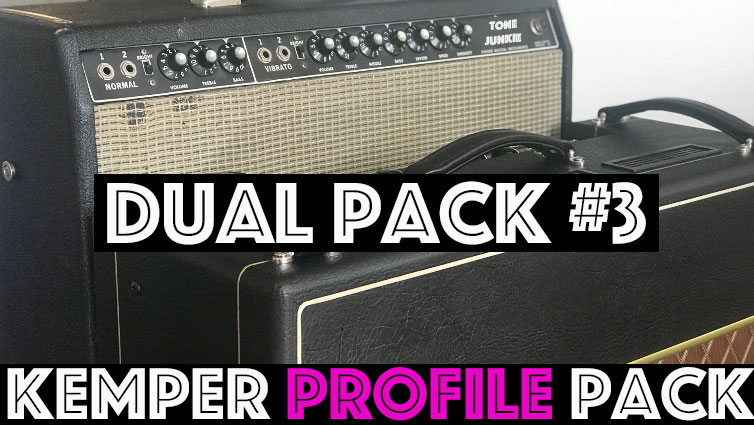 "Dual Pack #3 - Dual Pack #3 features our best line up of dual profiles yet! We've put together some classic pairing as well of some dual amp set ups you hear on popular records. 36 unique sounding studio profiles. Dual Pack 3 consists these profile sets, ""Englishmen"", ""Bad Kitty Twin"", ""Bad Kitty AC"", ""Super AC"" and ""AC Super""."