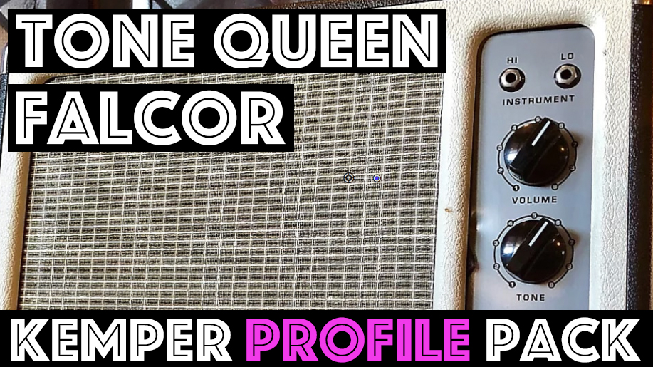 Tone Queen Falcon - The Tone Queen Falcor Kemper Profile Pack is a pack we are truly proud of! This little combo contains so many great tones between the Rhythm, Tweed and Lead voicing that this little single channel amp may be more versatile than many three channel amps! Rhythm is a punchy American tone, Tweed is more midrangey and dirty, and Lead is straight up sustain with tons of pick sensitivity.