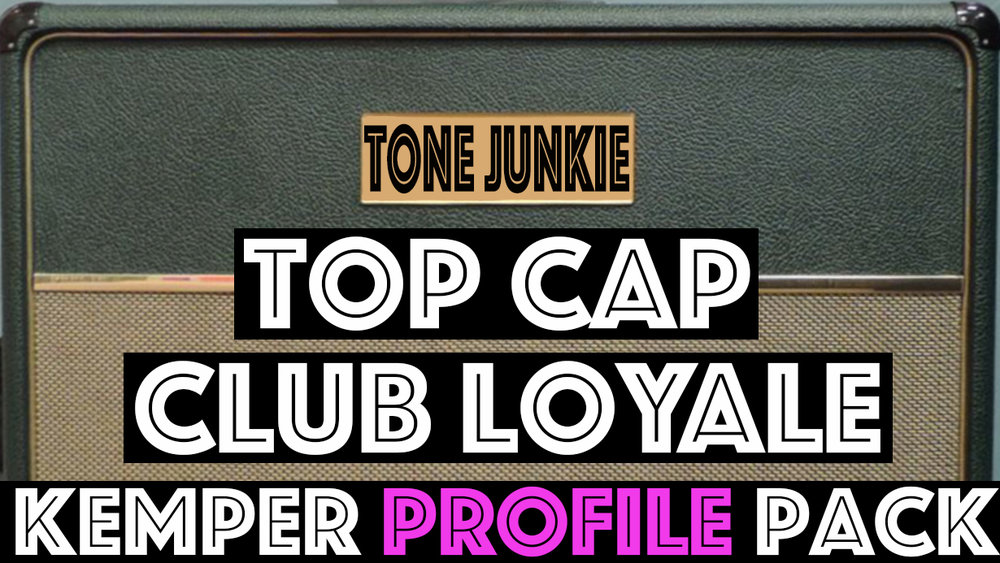 Top Cap Club!! - The Top Cap Club Loyale seeks to capture the tones of one of the boutique legends in the amp industry. Dripping with harmonics and absolutely one of the most juicey and responsive double el84 circuits we have seen, this pack comes equipped with tons of tonal options. No only did we throw in some of our favorite overdrives, the Top Cap Club…