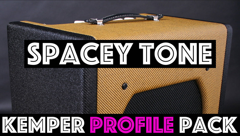 Spacey Tone! - The Spacey Tone Kemper Profile Pack seeks to capture the unique sound of a single ended 5w 6v6 amp that sounds capable of low wattage American Cleans to classic tweed growl, but with an added punch and fidelity. We profiles this circuit on 3 EQ settings, Low cut, Normal and Fat….