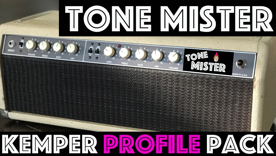 "Tone Mister!!! - New ReleaseThe Tone Mister Kemper Profile Pack from Tone Junkie captures the tones from the 100 watt 6L6 tube amp known for it's surprises under the hood. This circuit designed by Bruce Z was designed to look like a F**** and deliver the classic American cleans you would expect but it also does so much more. Channel A (denoted in Profiles as ""A"") is…"