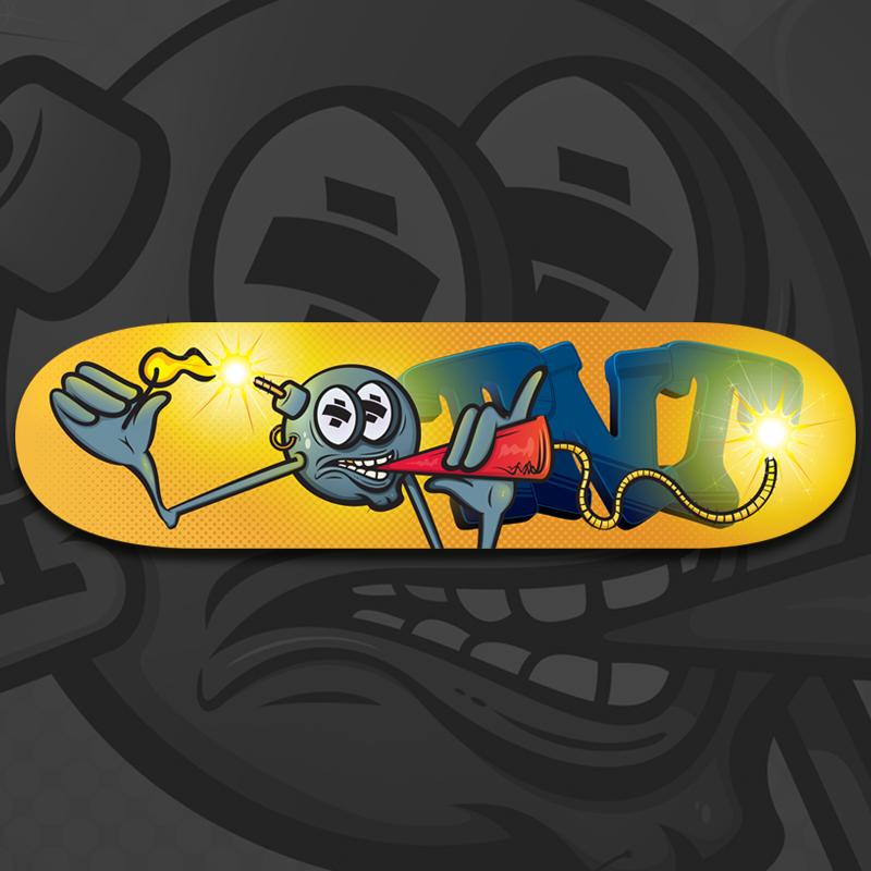 Smokin' Dynamite Skateboard Deck