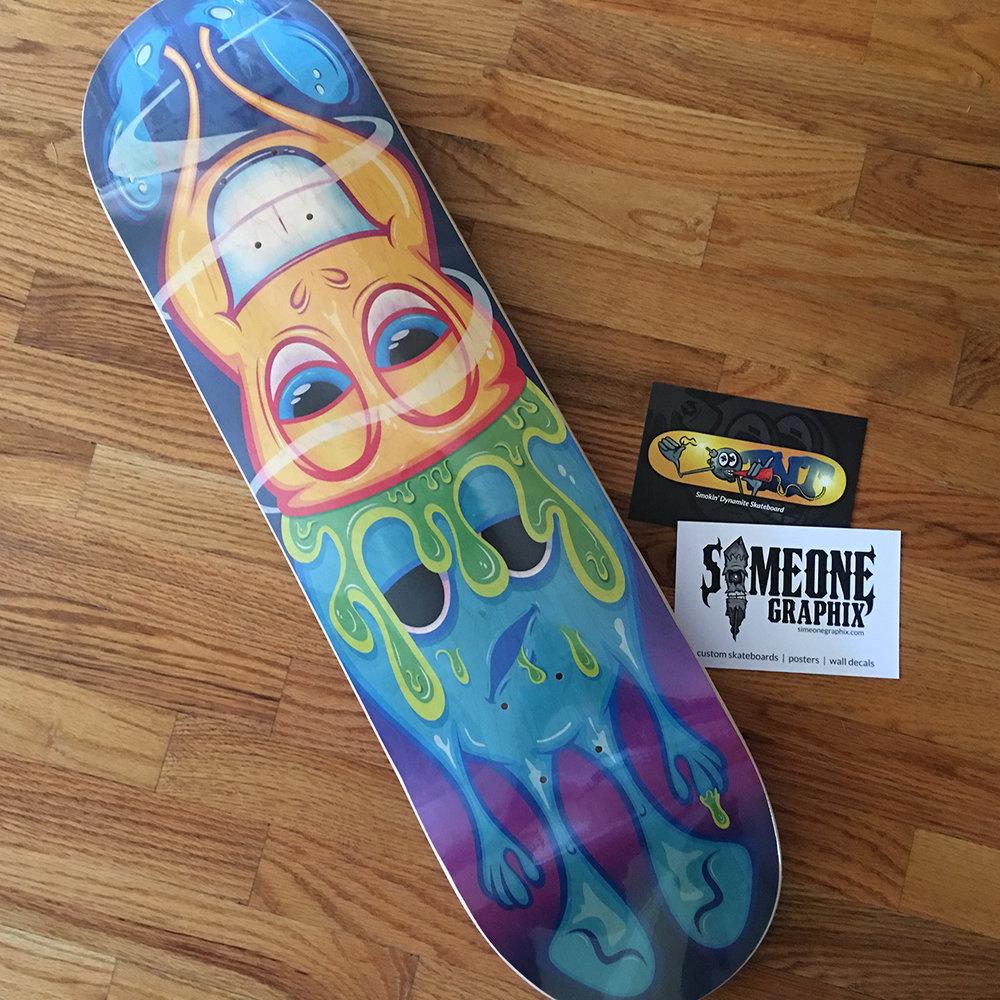 Brainwash Skateboard Deck