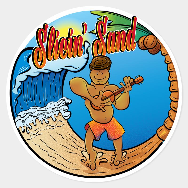 Slicin' Sand Surfer