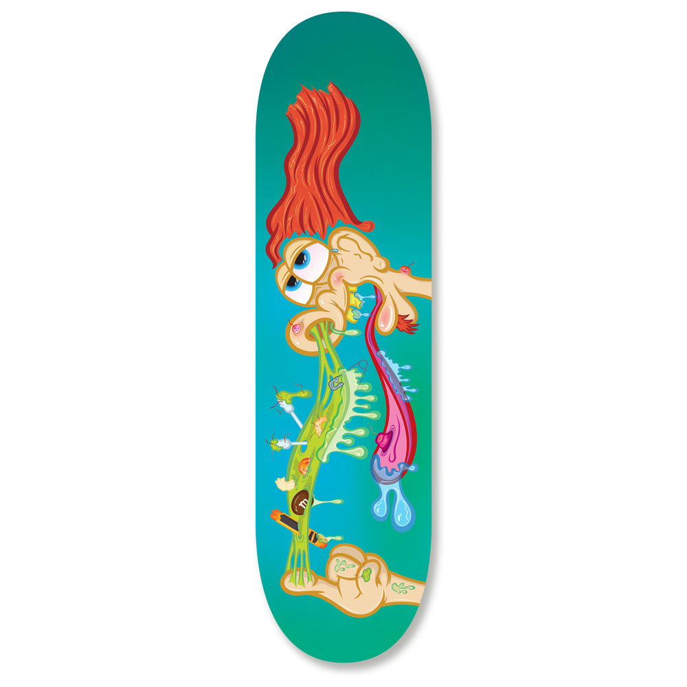 Gone Fishin' Skateboard Deck