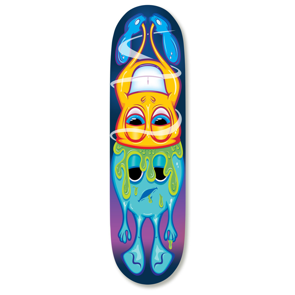 Brain Wash Skateboard Deck