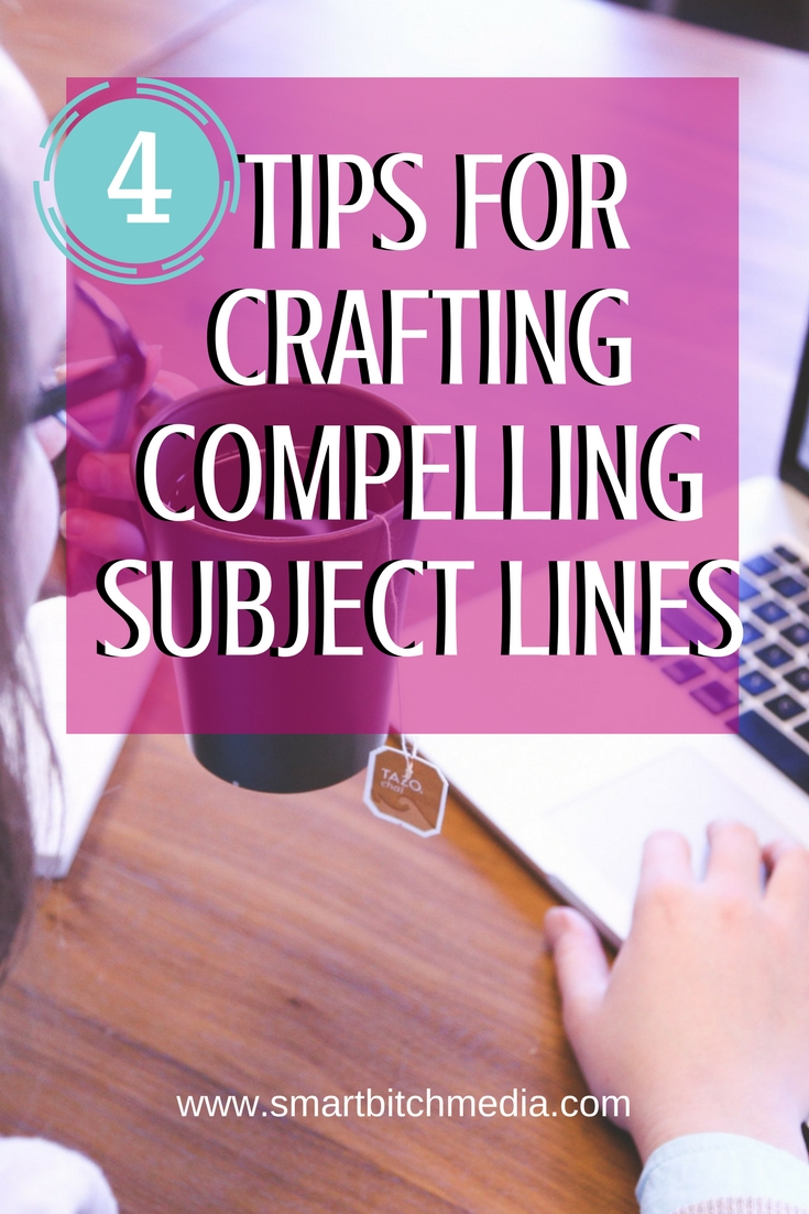 4 Tips For Crafting Compelling Subject Lines #email #marketing #emailmarketing #emailmarketingtips