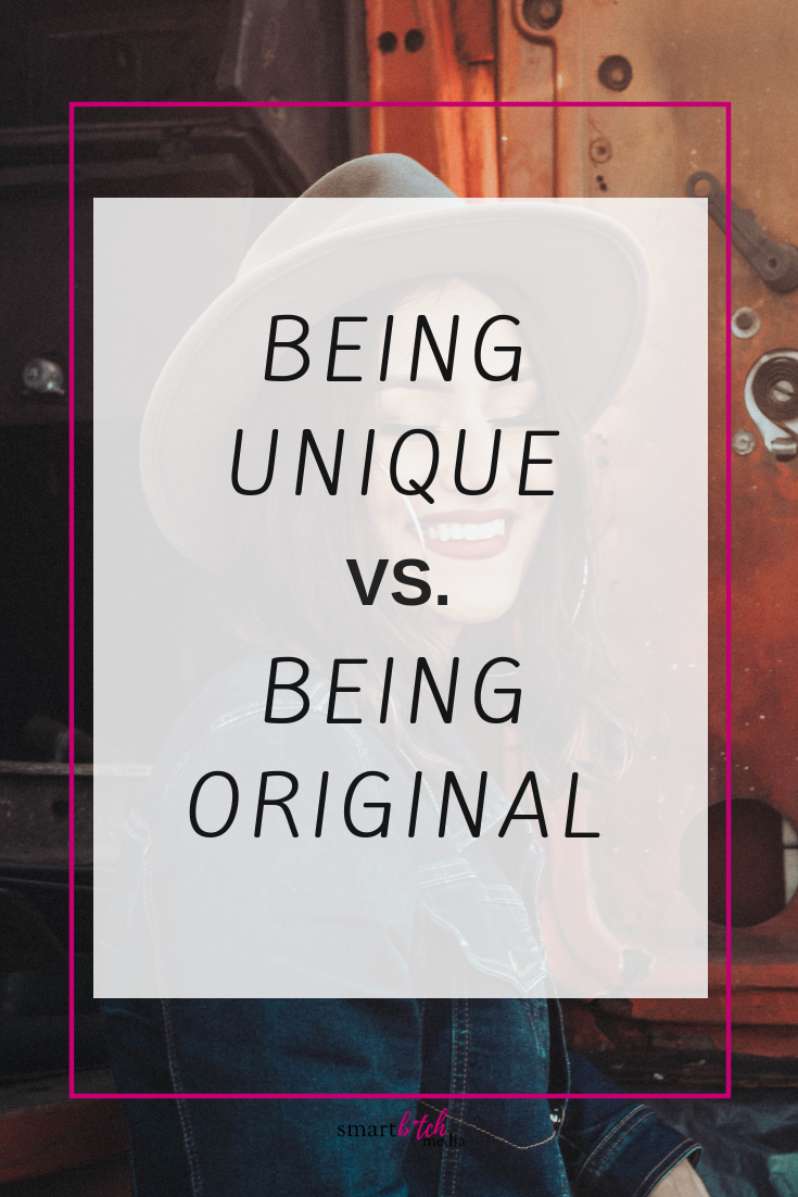 Being Unique vs. Being Original: Is There a Difference?