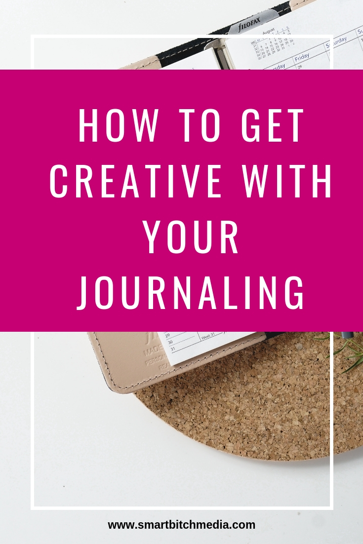 how to get creative with your journaling