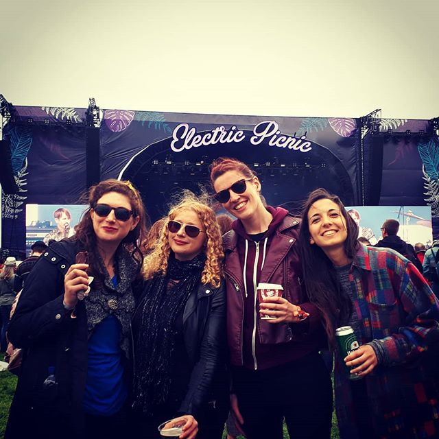 Soaking up the festival vibes at @epfestival today! Thanks to Trailer Park for having us earlier! ❤  #electricpicnic #electricpicnic2018