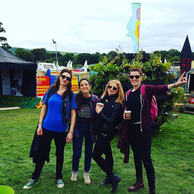 We had the best weekend at @epfestival ❤ massive thank you to all the lovely staff at The Salty Dog and Trailer Park stages for having us and to everyone who came to see us!  #electricpicnic2018 #electricpicnic #indie #indiepop