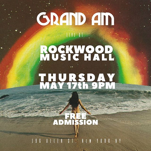 If you like butts, and you like the ocean, you're gonna like Grand Am.  Come hang on Thursday! Art credit @yourlegmyleg