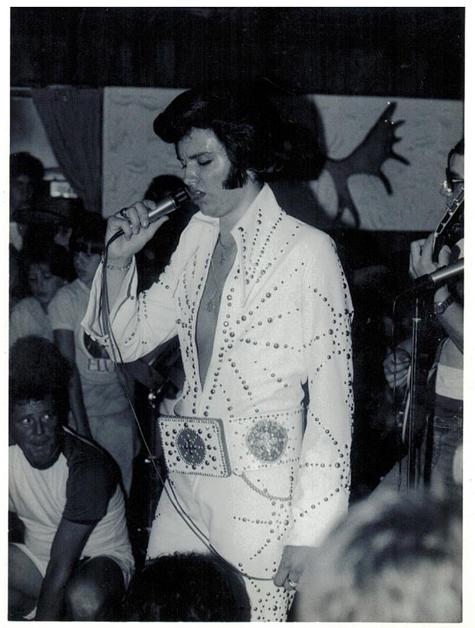 Sylvain performing, age 15