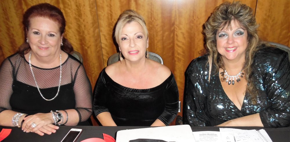 Sue, Rita, and Sandra greeted concert goers and made sure everyone had a great time at the  Gordon Hendricks'  concert in Niagara Falls, October 21st, 2017