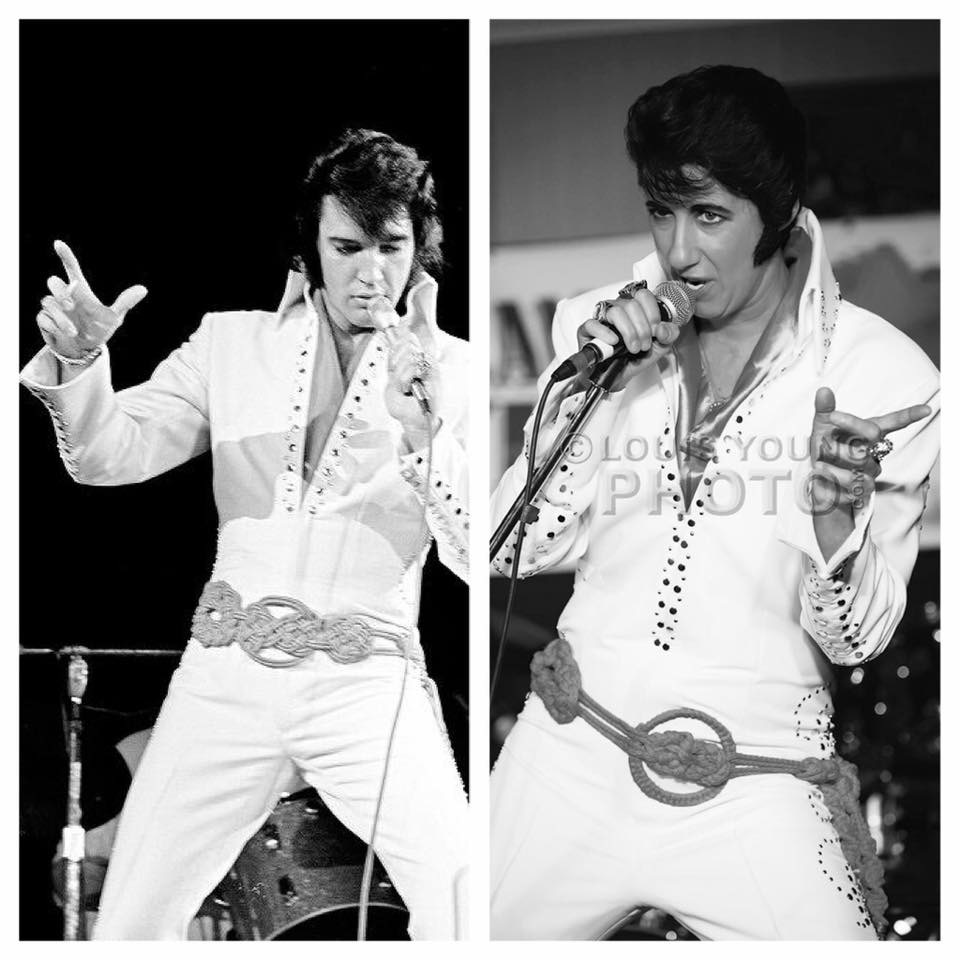 Marnie and Elvis. Photo of Marnie by Louis Young.