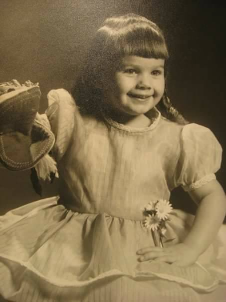 Wendy King at age 3.