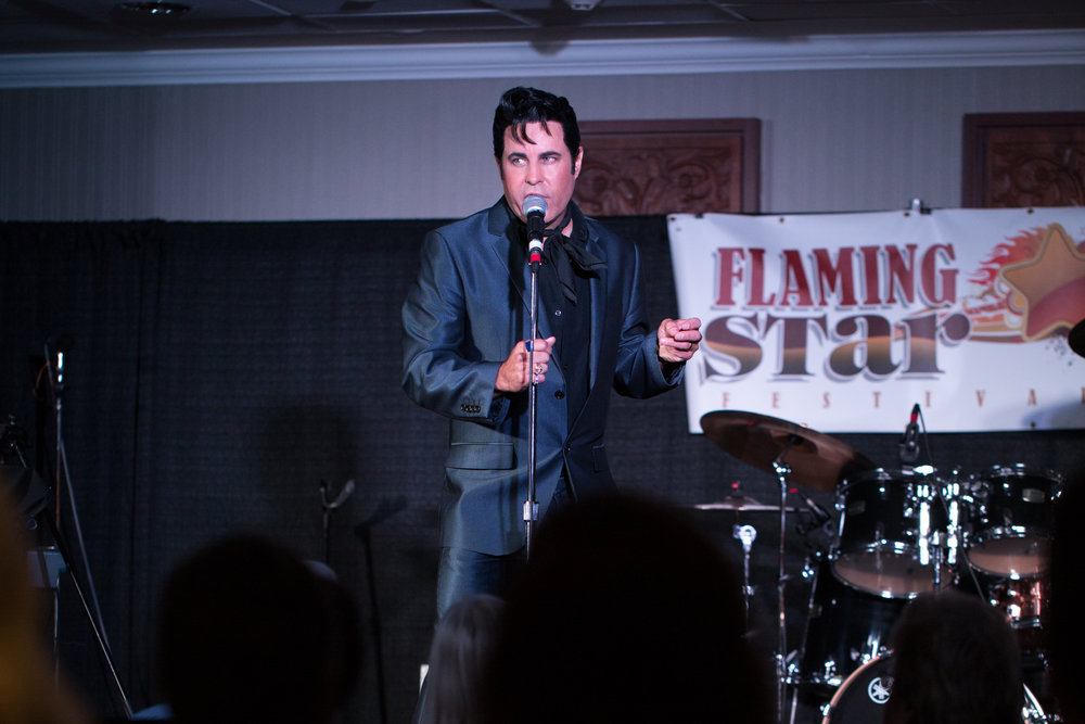 James Gibb performing at the 2017 Flaming Star Festival, Toronto. Photo by Lori-Anne Crewe.