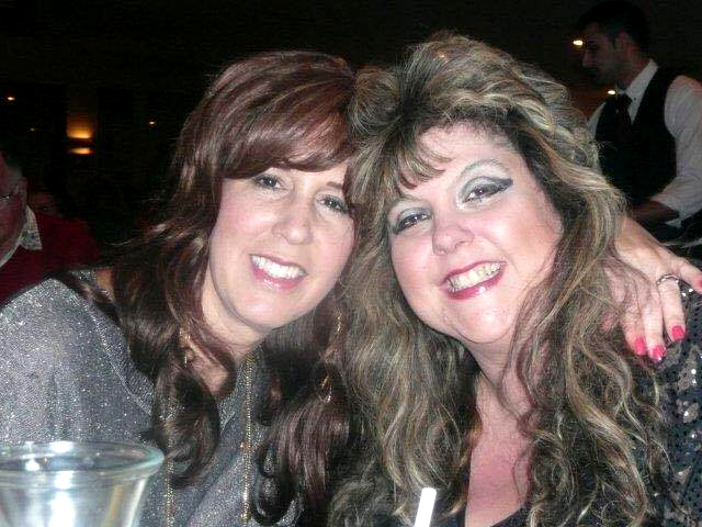Sandra Gold and long-time  friend, Karen Pattiucci.   Photo submitted by Sandra Gold.
