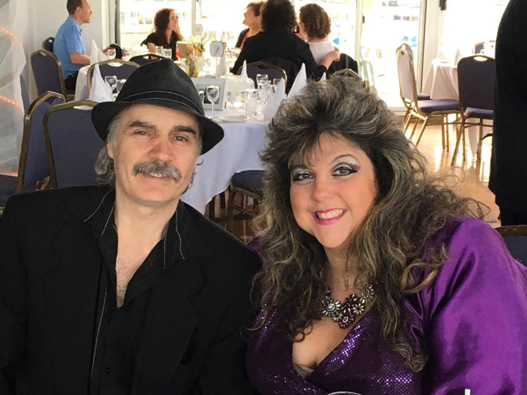 Sandra Gold   with husband, Oscar.   Photo submitted by Sandra Gold.