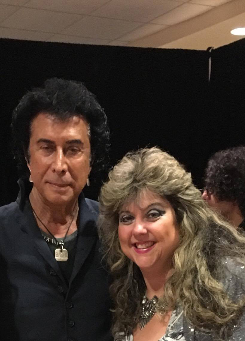 Sandra Gold with Andy Kim.   Photo submitted by Sandra Gold.
