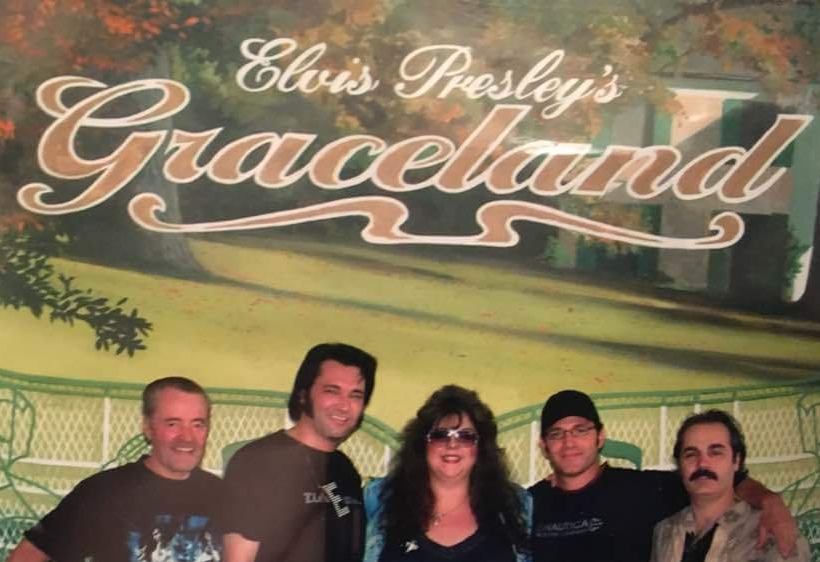 Dad, Tim, Sandra, Kevin Mils, and Oscar Memphis.