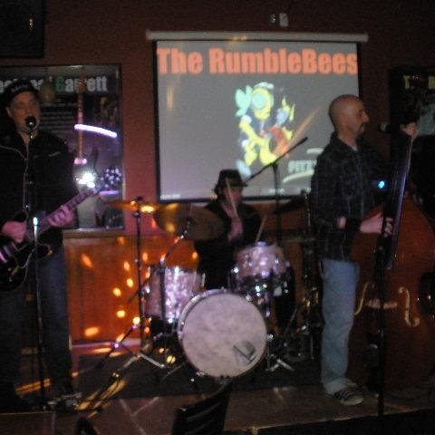 The Rumblebees with Tim on drums.