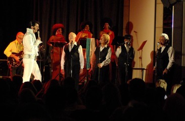 ETA  Oliver Steinhoff  performing with The Imperials.