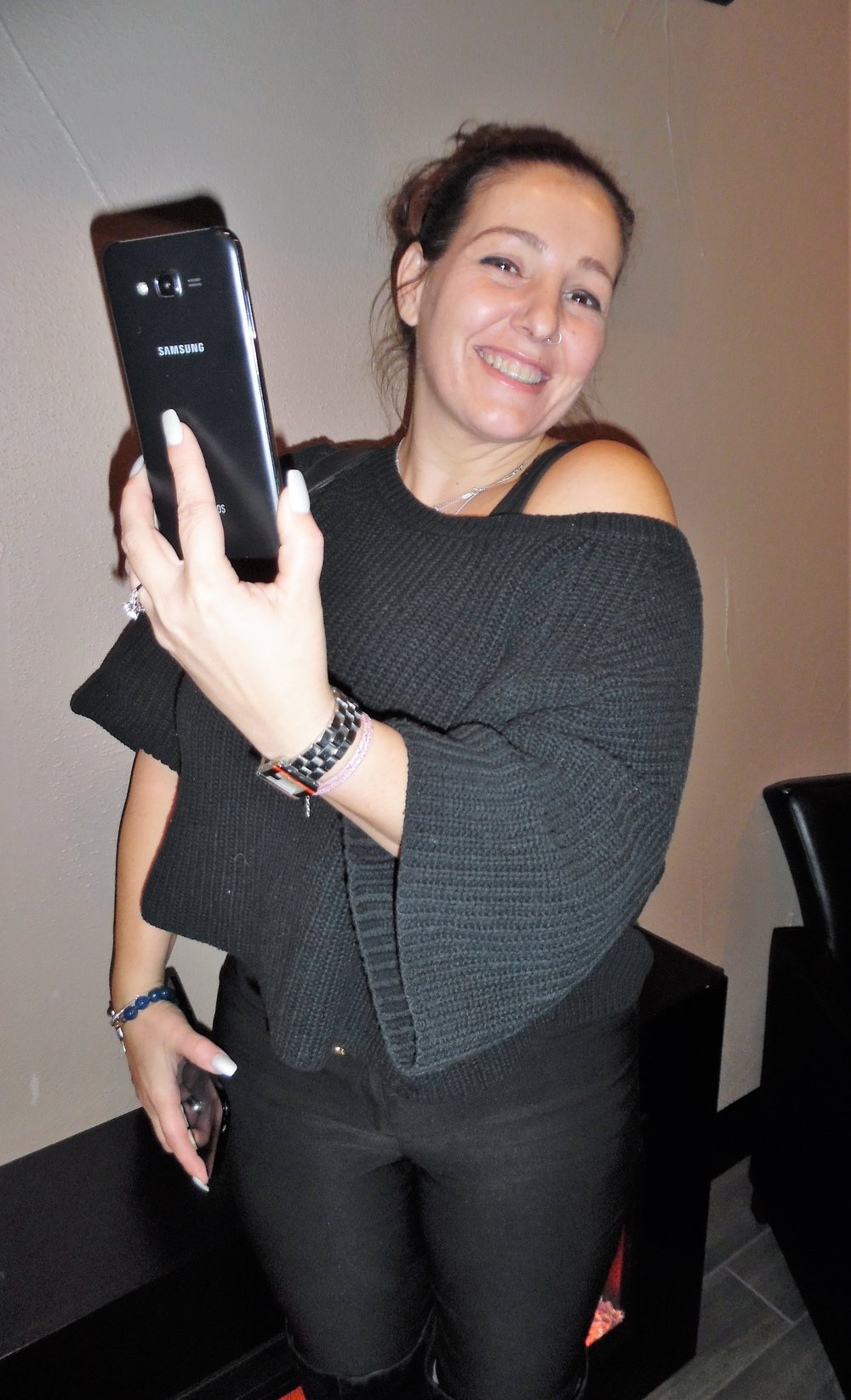 ETA  Bruno Nesci 's fiancée, Mary Passero recording Bruno's Flamboro show.