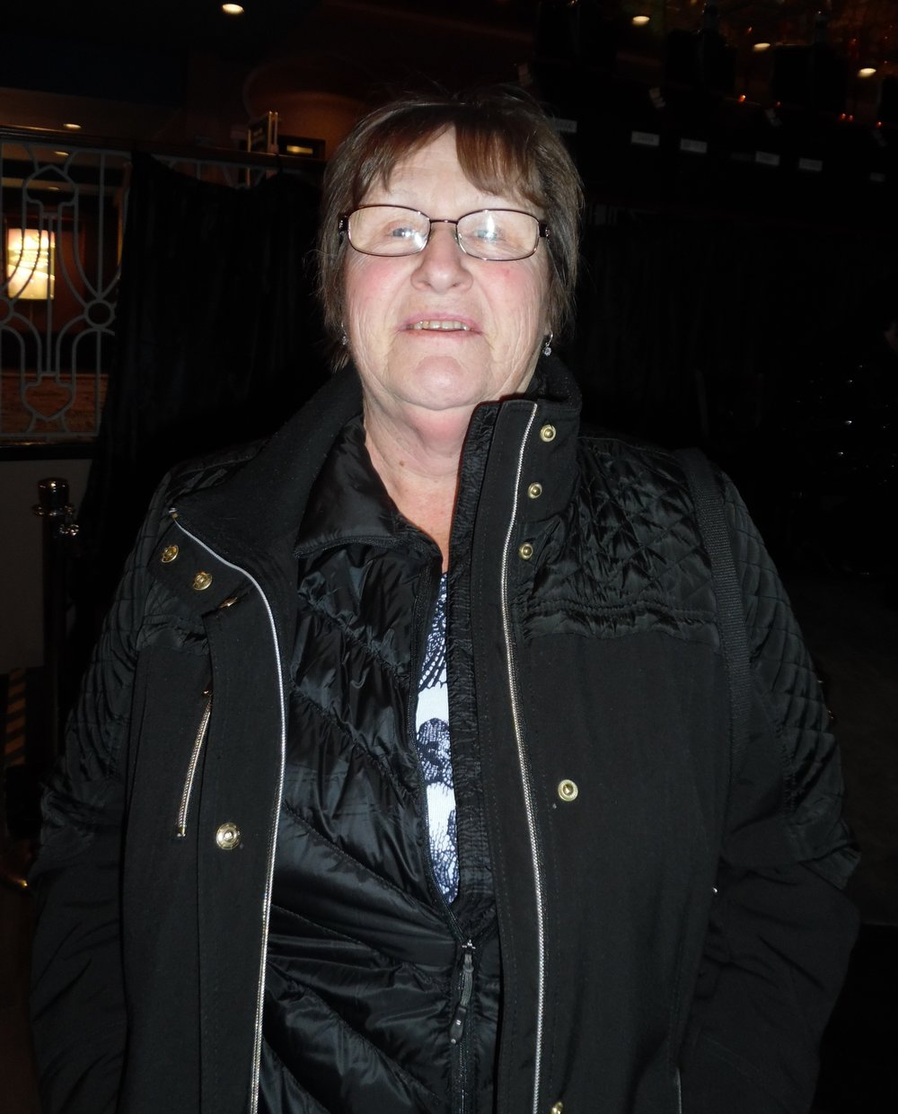 ETA fan Donna Young, January 5th, 2018 at Flamboro Downs.