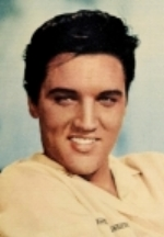 Elvis Presley            Photo Credit:  Modern Screen, June 1958.        Via Pinterest.