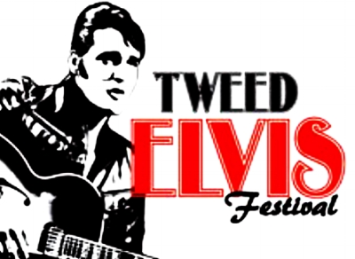 The Tweed Tribute to Elvis Festival official logo.        Image:  Courtesy of Lisa Lesage.