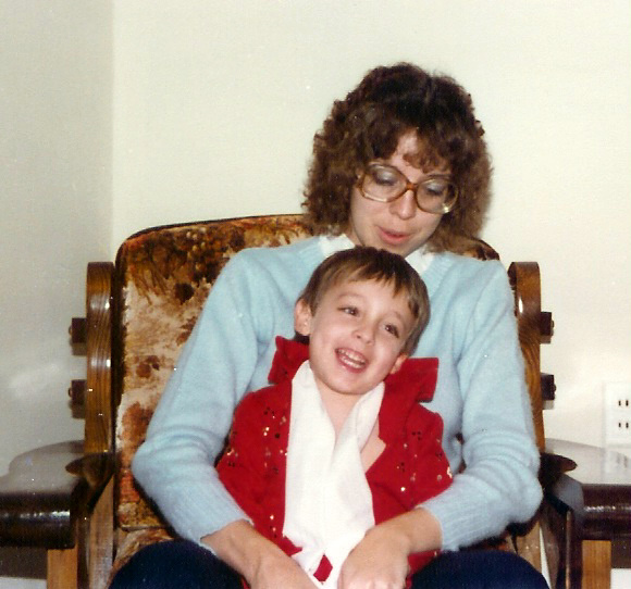 Polston_Eight_Kim and Michael 1980 in his first jumpsuit.tif.jpg