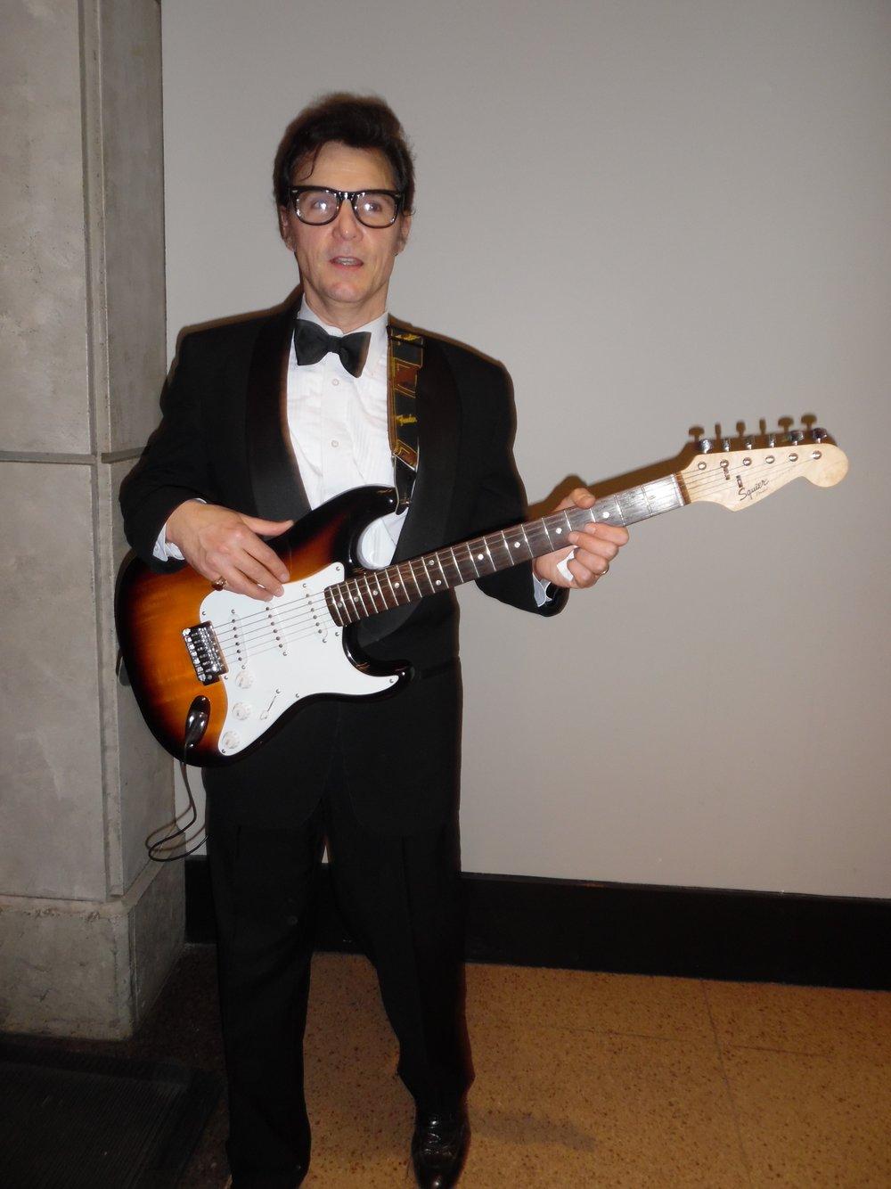 ETA  James Begley  as Buddy Holly at Casino Niagara,.