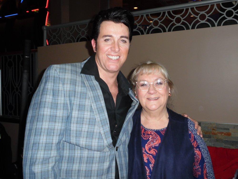 ETA  Matt Cage  and Carolyn MacArthur at Flamboro Downs.
