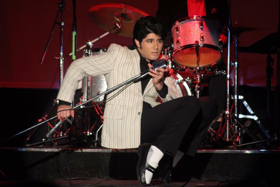 ETA  Josh Davis  performing Elvis in the Early Years.  Photo Credit: Jessica Davis.