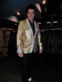 ETA  Brent Freeman  looking splendid in his gold jacket.